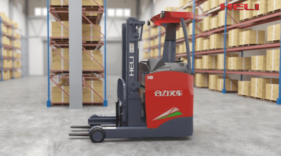 G2 Series 1.5-1.8t Stand-On Type Electric Reach Truck