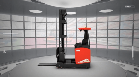 G2 Series 1.6-2t Sit-On Type Electric Reach Truck
