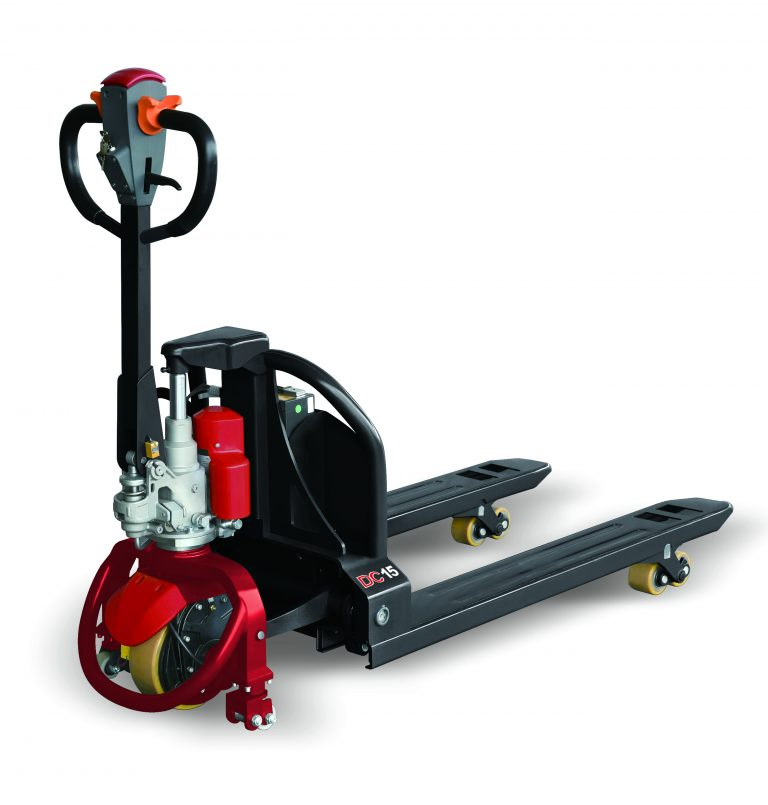 Electric pallet truck (Lithium battery) – Walk-behind – 3300lbs