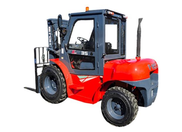 Chariot élévateur – Rough Terrain – Diesel – 4000-7000